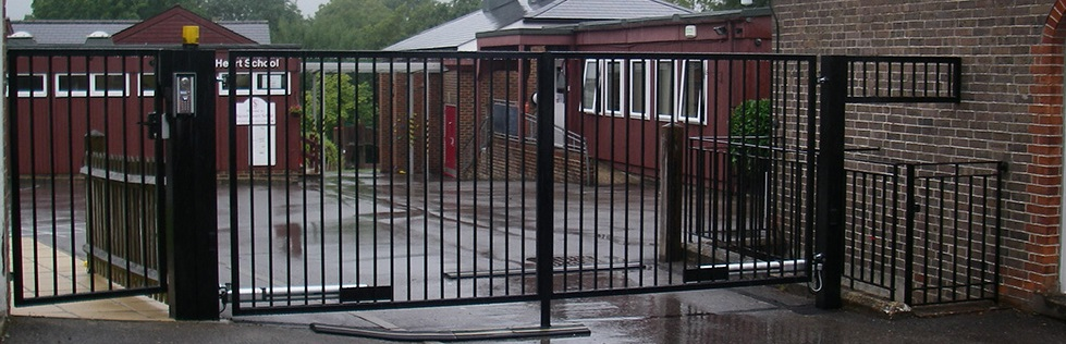 Automatic gate safety