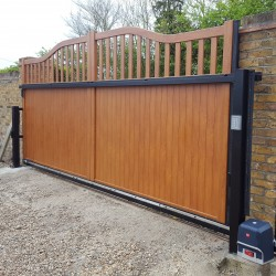 Aluminium Cantilever Gate From Swing Gates