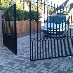 How to Maintain a Wrought Iron Gate