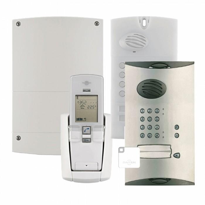 Daitem Sc902au Single Dwelling Wireless Digital Entry Kit With