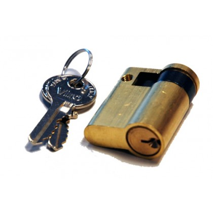 Faac European cylinder lock with personalised key from No.1 to No.36