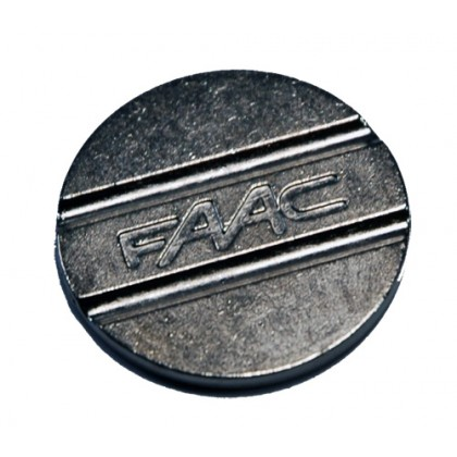 Faac 27mm diameter double groove tokens