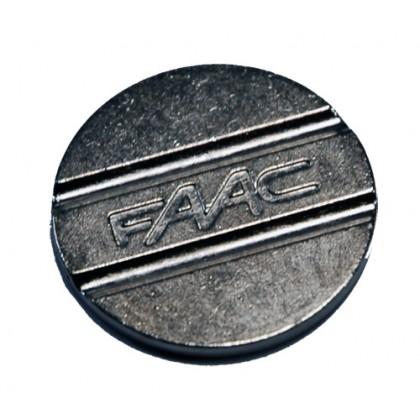 Faac 27mm diameter double groove tokens