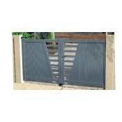 Contemporary Aluminium Gates