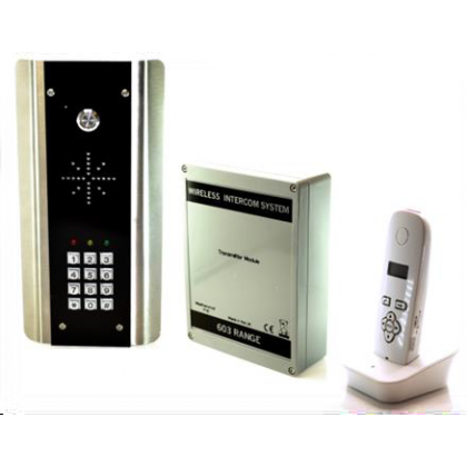AES 603-ABK DECT architectural digital wireless audio intercom system with keypad