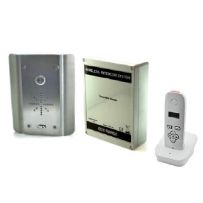 AES 603-AS digital wireless audio intercom system in stainless steel