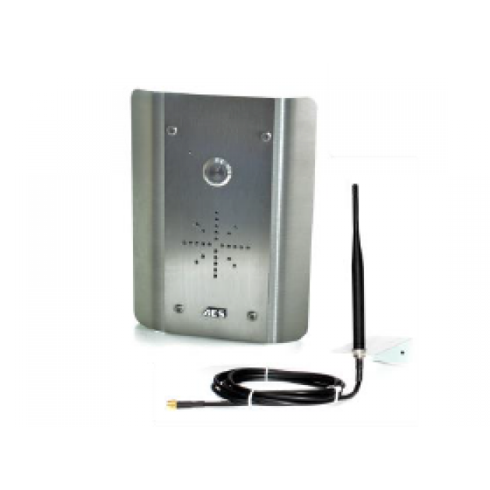 AES CellcomPrime PRIME6-AS 4G architectural stainless GSM audio intercom