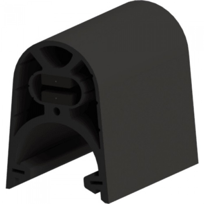 ASO GGE 45mm or 65mm safety edge rubber profile with clip foot