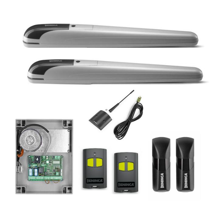 Beninca KBOB5024E 24Vdc linear screw kit for automating swing gates up to 5m