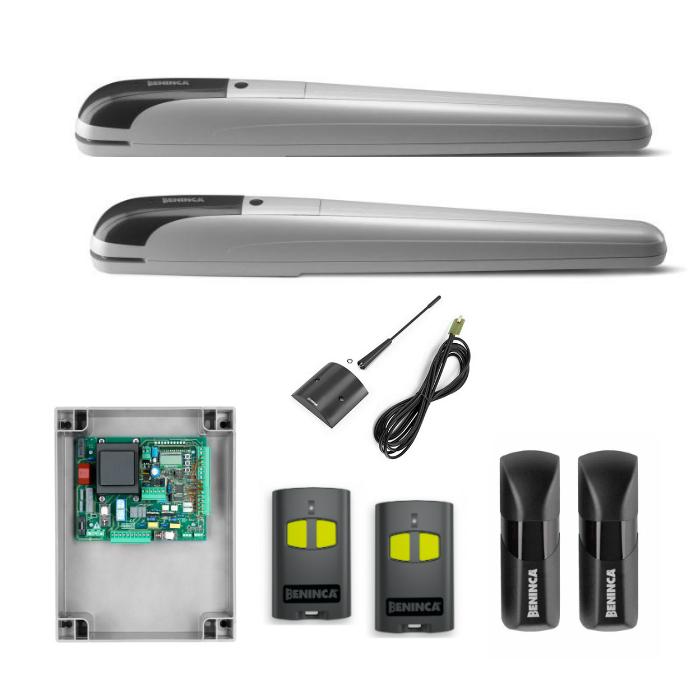 Beninca KBOB50ME 230Vac linear screw kit for automating swing gates up to 5m