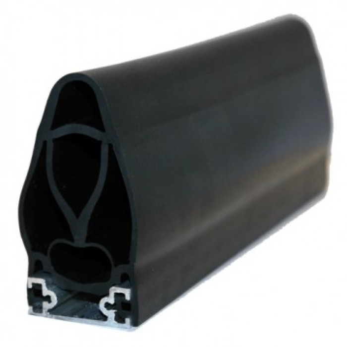 Faac Coverline ELE040/080A0A0J0 safety edge with aluminium support with one lead and one resistor