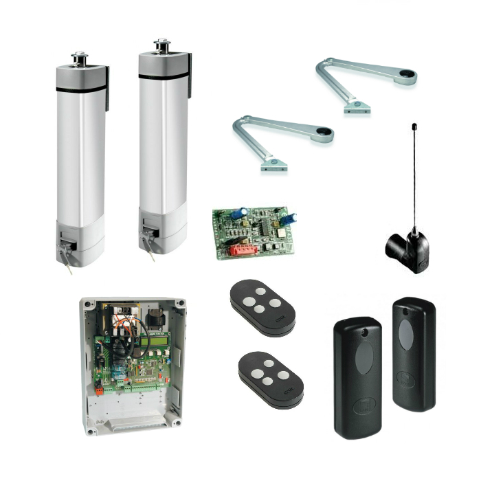 Came StyloA P24 S24 24Vdc articulated arm kit for swing gates up to 1.8m