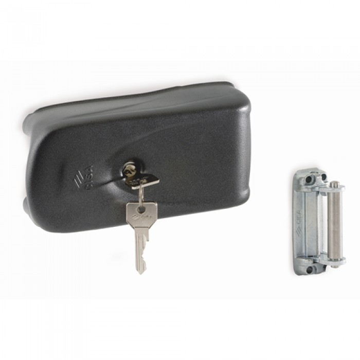 Erreka LC721 CISA electric lock with adjustable 50-80mm cylinder