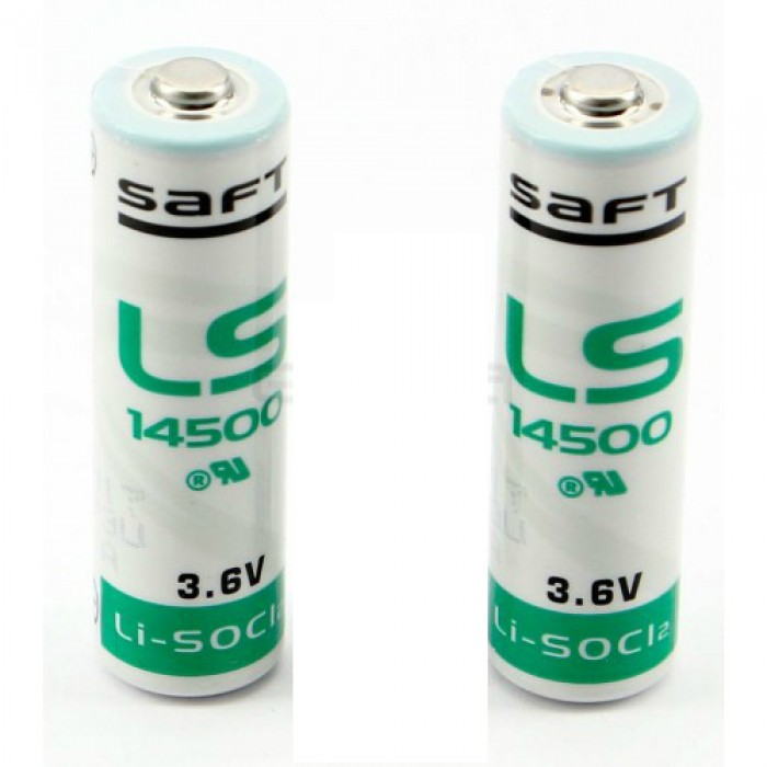 Erreka LFTBAT 2 lithium batteries 3.6V for LFT25B photocell