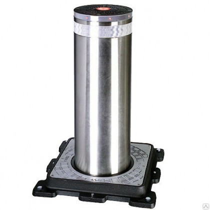 Faac J series J275/800 automatic bollard in stainless steel