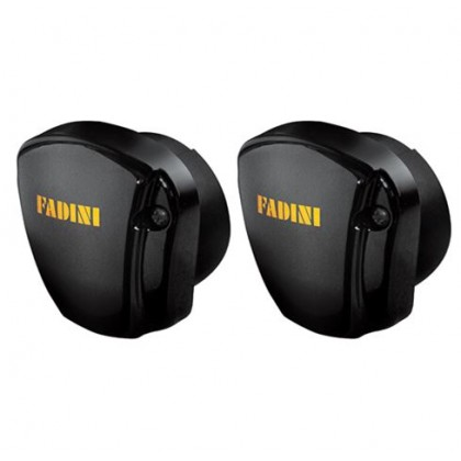 Fadini Fit 55 partially recessed pair of photocells with max range of 30m