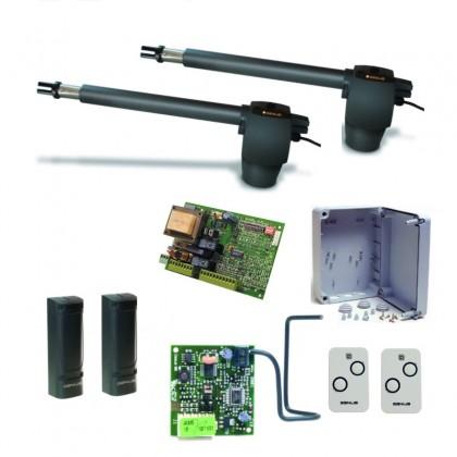 Genius G-BAT300 KIT 230Vac linear screw kit for swing gate up to 3m