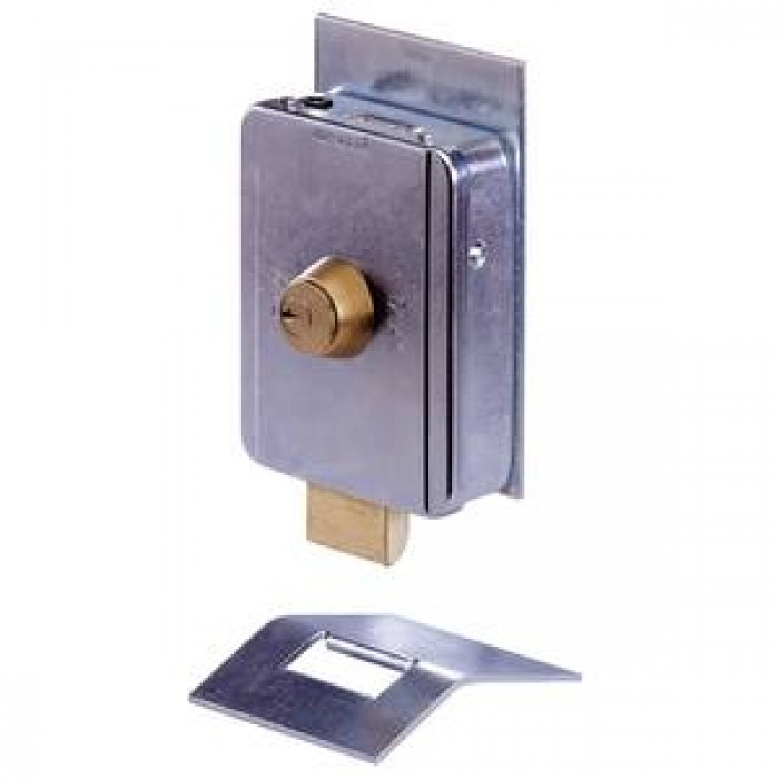Faac 12Vac electric lock complete with floor-fitting receiver slot