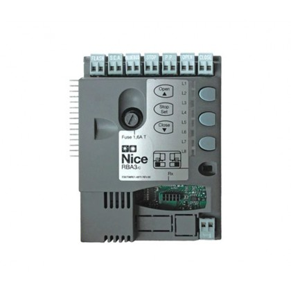 Nice RBA3 control unit for ROBUS and RUN sliding gate motor