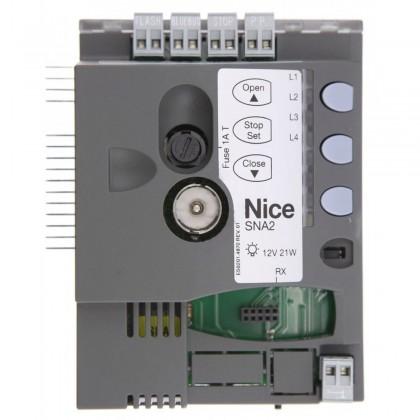 Nice SNA2 spare control unit in SpinBus garage door system