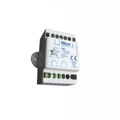 Nice TW1 regulation thermostat for PW1
