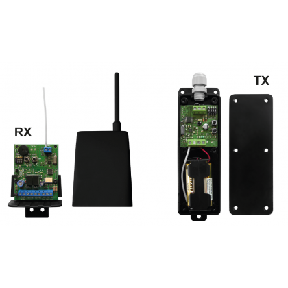Nologo TRANCEIVER 868Mhz wireless transmitter and receiver kit