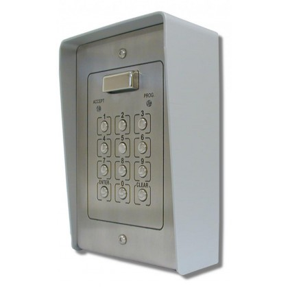 Videx 800NS surface  2 code 2 relay stainless steel code lock keypad