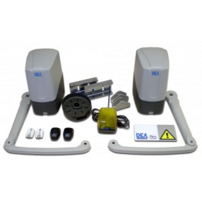 DEA GEKO 24Vdc articulated arm kit for automatic swing gates up to 2m