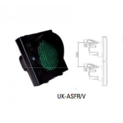 Faac Traffic lights module, green light with plastic body, 24Vdc