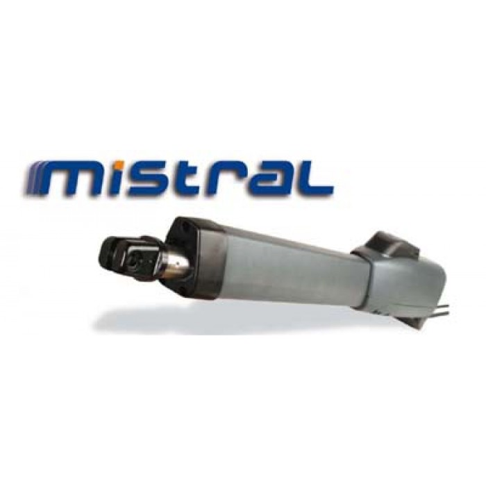 Genius MISTRAL400LS 230Vac linear screw motor for swing gate up to 4m