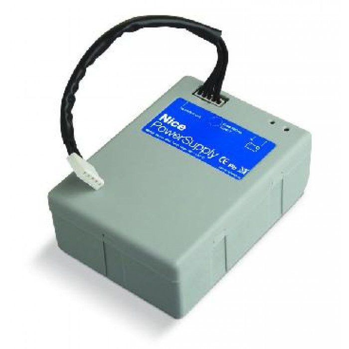 Nice PS124 24Vdc battery with integrated battery charger