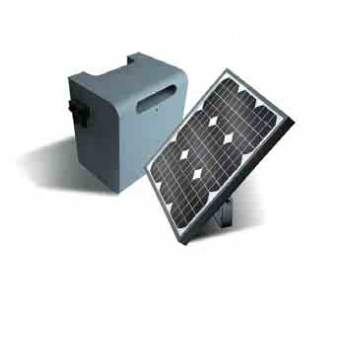 Nice Solemyo gate automation kit for solar power
