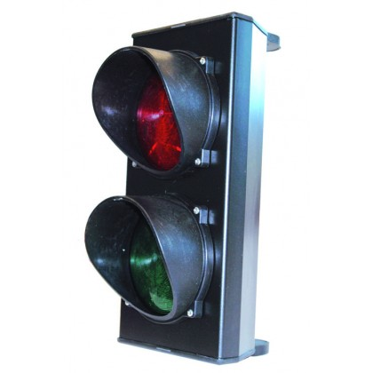 Faac Traffic lights, Red and Green traffic light (120mm light surface)