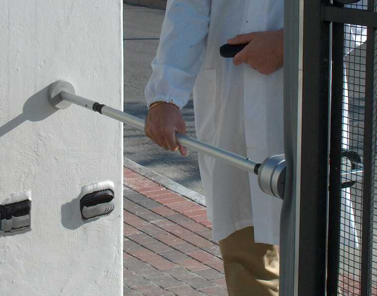 Gate automation safety equipment