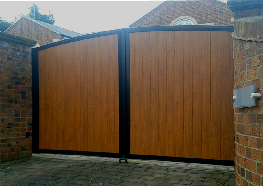 electric gates cost