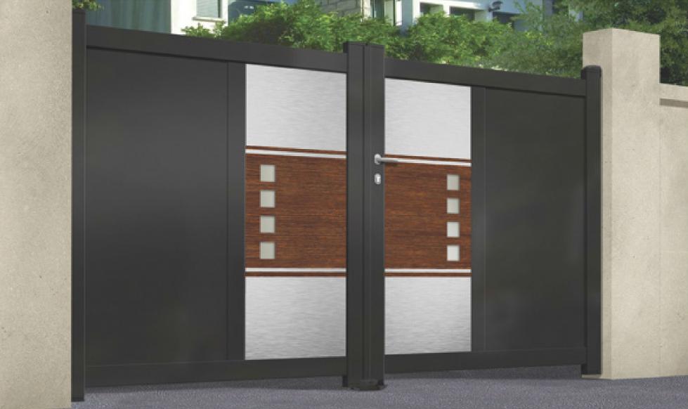 Design Aluminium Gates
