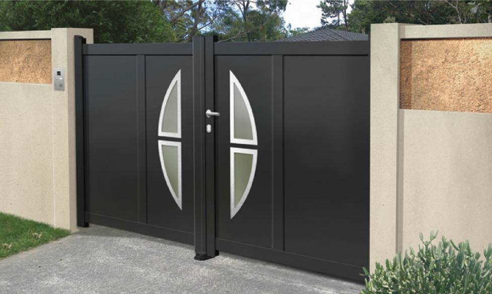 Home Design Gate Ideas: Design Aluminium Gates
